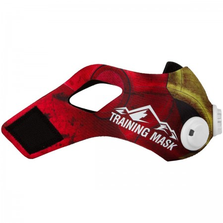 Elevation Training Mask 2.0- Red Iron Sleeve- M
