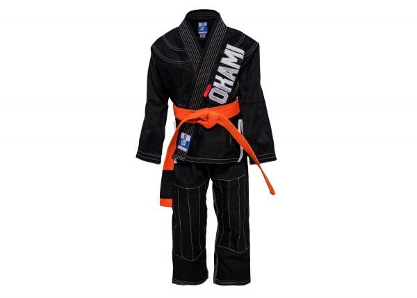 Kids Jiu Jitsu Gi Competition Team Black