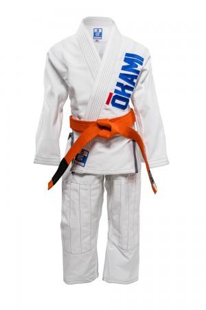 Kids Jiu Jitsu Gi Competition Team White