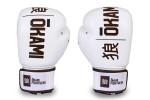 Okami fightgear Hi-Pro Boxing Gloves Blanc (white)