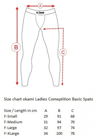 Okami Ladies Spats Competition Basic #2