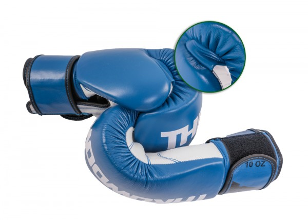 Throwdown® Boxing Gloves Contender 10oz blue