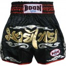 BOON Muay Thai Shorts Silver Flames