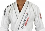 OKAMI fightgear BJJ Gi Ronin white Limited Edition